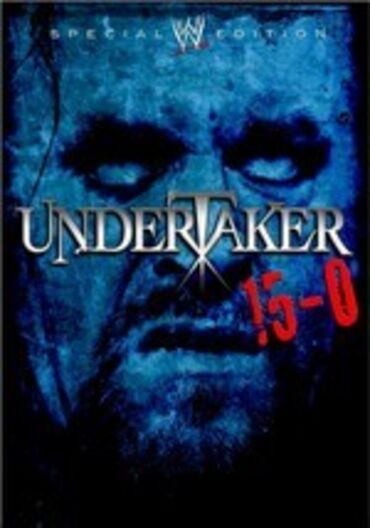 WWE UNDERTAKER 15-0