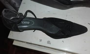 Crne elegantne sandalete boj 38. - Beograd