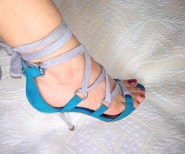 Guess original kozne sandale 38Prelepe skupocene Guess sandale