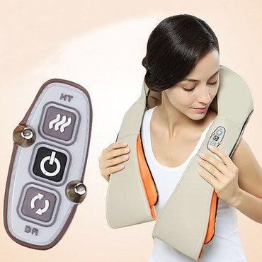 Уход за телом в Кок-Ой: Массажёр - шаль обеспечивает глубокий роликовый массаж, аналогичный
