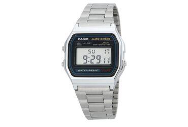 пластиковые гантели в Кыргызстан: Серебристые Мужские Наручные часы Casio