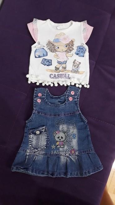 Ostala dečija odeća | Valjevo: Komplet za devojcicu, velicina 6-9 meseci