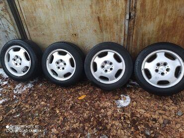 диска мерседес в Кыргызстан: Продаю диск R16 оригинал вместе с летней шинами без шины . от