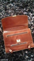 Zenska kozna torba - Crvenka