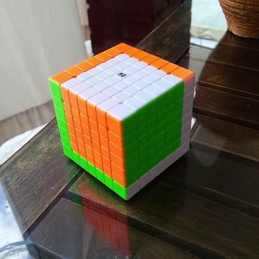 rubik - Azərbaycan: 7x7 Kubik Rubik speedcube di. təzədi qutusu yerindədi. indi bəziləri