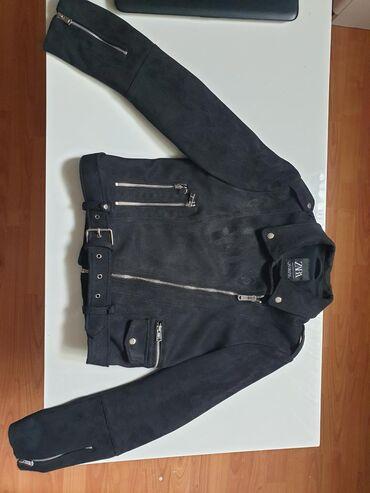 Zara jaknica od prevrnute koze, jednom obucena