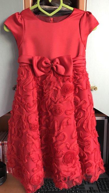 Платье на возраст 5-9лет в идеальном в Бишкек