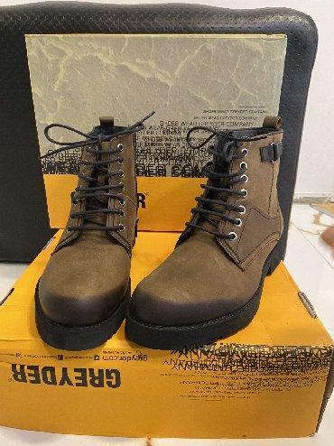 винтажные мужские ботинки в Азербайджан: Greyder firmasinin sapojkileri oglan ucun, tezedir, etiket karobka