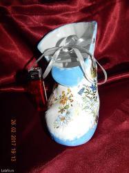 Drzaci za carape - Vrnjacka Banja: Velika cipela keramička za sitnice. Ukrasni detalj za vaš enterijer