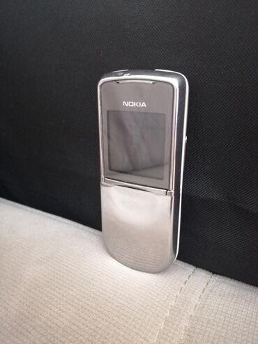 8800 nokia - Azərbaycan: Nokia 8800 sirocco.metal reng.orginal adaptor