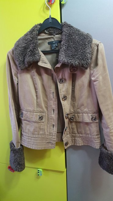 Ženske jakne | Nis: ZARA zenska jakna-sako, vel s, kao nova, krzno se skida sa rukava i