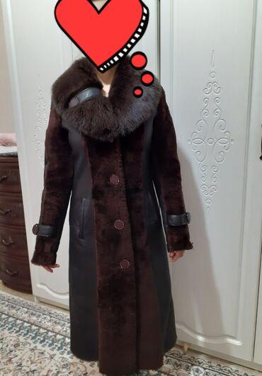 Дубленки для женщин - Кыргызстан: Продаю срочно! Дублёнка высокого качества! Турция! Почти не одевали