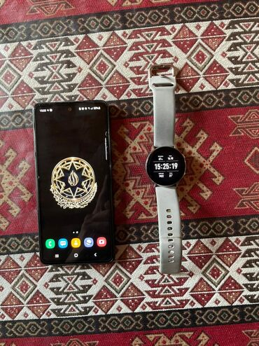 1083 elan | SAMSUNG: Samsung Galaxy A52 | 128 GB | Qara | Barmaq izi, İki sim kartlı, Face ID