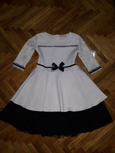 Haljina-sa-rukavotila-duzina-c - Srbija: Lune girl haljina, velicina 14. Predivna, raskosna haljina, nosena