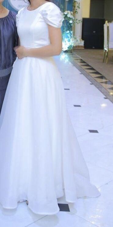 13904 объявлений: Платье на кыз узатуу  Юбка снимается,внизу полноценное платье. Ткань А