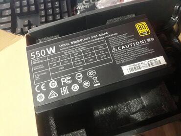 Модульный голдовый блок питания 550wattcooler master mwe gold modular