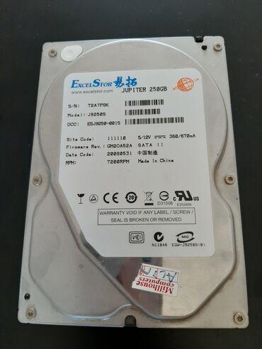 Eksterni hard disk - Srbija: Hard disk, 250GB, SATA II