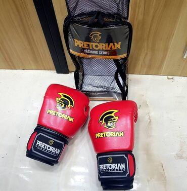 Rukavice | Crvenka: Pretorian rukavice za boks, kik boks, sparing, veličina 10oz, potpuno