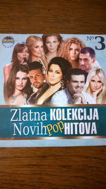 zlatna kolekcija novih pop hitova - Beograd