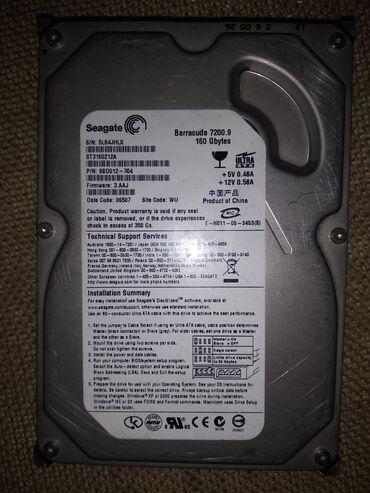 шницер диски в Кыргызстан: Жёсткий диск, выхода старого образца аташные.память 160 GB