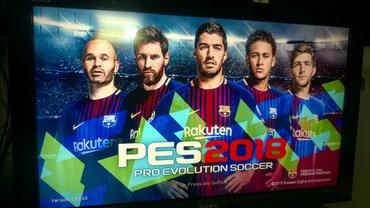 Ps3 - pes 2018, fifa 18 + jos 5 igaraPro Evolution Soccer 2018, - Beograd