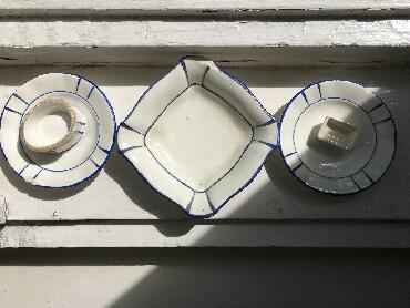 Ostalo - Novi Sad: Prodajem porcelanski set od 5 elemenata, koji moze sluziti kao posuda
