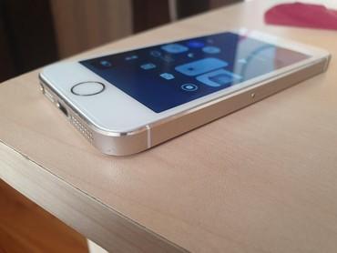 Bakı şəhərində Iphone 5s yaxshi veziyyetde. korobka, adaptr ustunde. birce barmaq izi