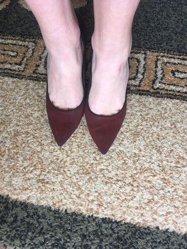 Ombre cipele, malo nosene, u odlicnom stanju, visina štikle 11cm