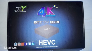 Android smart TV box MX9 in Belgrade