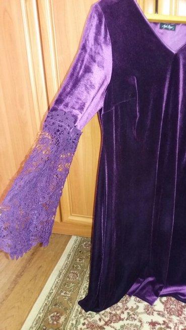 платье из королевского бархата в Кыргызстан: Королевский бархат, очень красивое платье, одето один раз, покупала