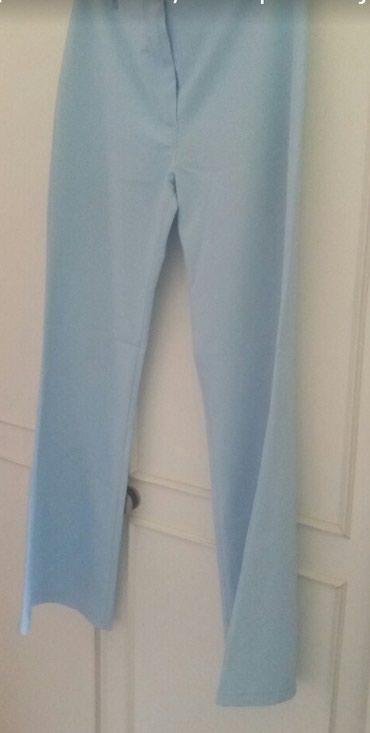 Plave pantalone - Srbija: Pantalone na peglu,vel.42
