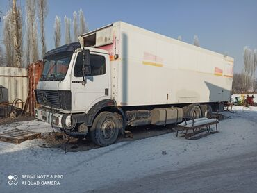продажа рефрижераторов бу в Кыргызстан: Продаю Мерседес Бенс 2433грузововой с прицепом, в не рабочем