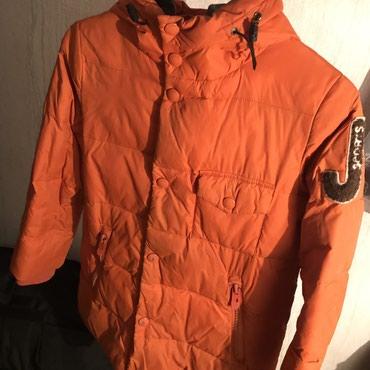 Куртка пуховик на мальчика Зима 6-7-8 в Бишкек