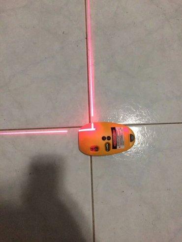 Bakı şəhərində  Smart Lazer tərəzi. Mini  köməkci uroven  ( 2 xətt  90 dərəcə- şəkil 3