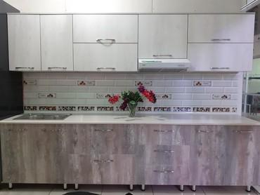 Кухонный гарнитура длина 3метра* 2.15м в Бишкек