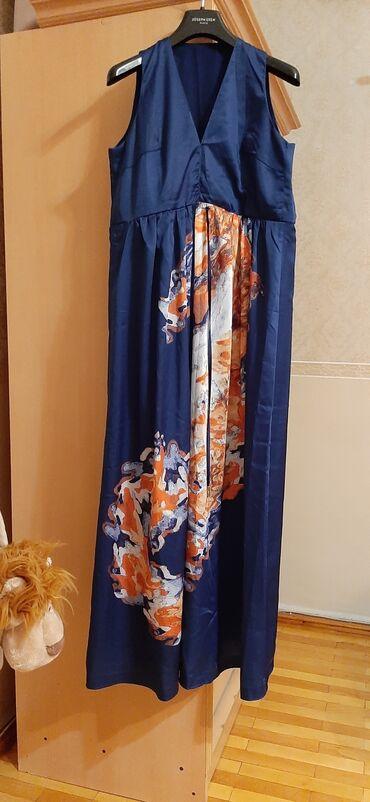 2828 elan: Ejdeha şəklində naxışlı təbii ipəkdən hazırlanmış uzun zərif paltar