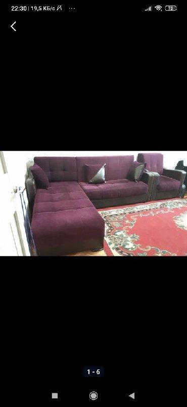 Продаю б/у угловой диван с 1 креслом в хорошем состоянии, есть