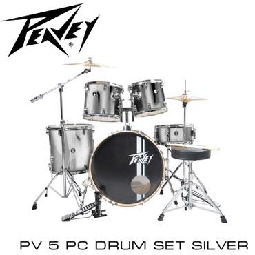 Барабаны. Полноценная барабанная установка Peavey PV5 изготовлена из к
