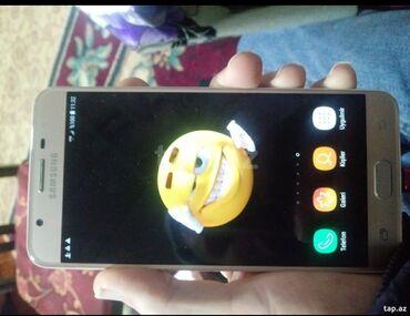 samsung j7 2015 чехол в Азербайджан: Б/у Samsung Galaxy J7 1 ГБ Золотой
