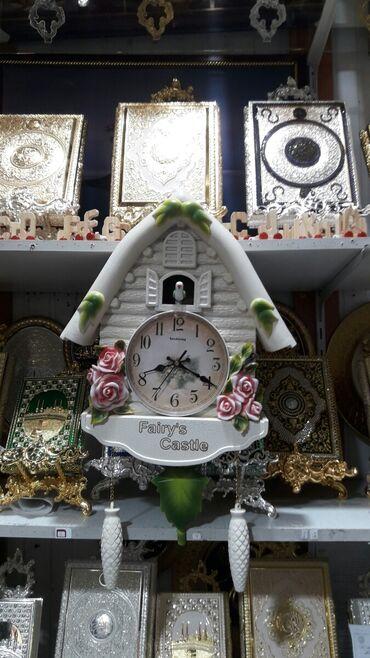 Əntiq saatlar - Azərbaycan: Divar saatı Hər saatda zəng çalır Hər saatda Quş səsi çıxardır