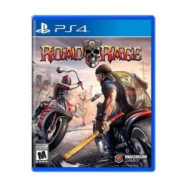 Ps4 üçün road rage oyun diski Yenidir bağlı upokovkada orginal в Bakı