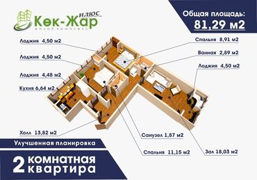 Apartment for sale: 3 bedroom, 81 sq. m