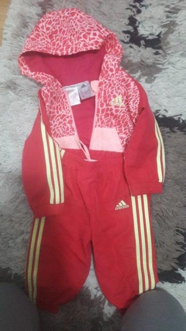 Dečija odeća i obuća - Lebane: Adidas trenerica prelepa kao nova