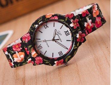 Geneva -new fashion watch luxury flowers women watch  - Novi Sad