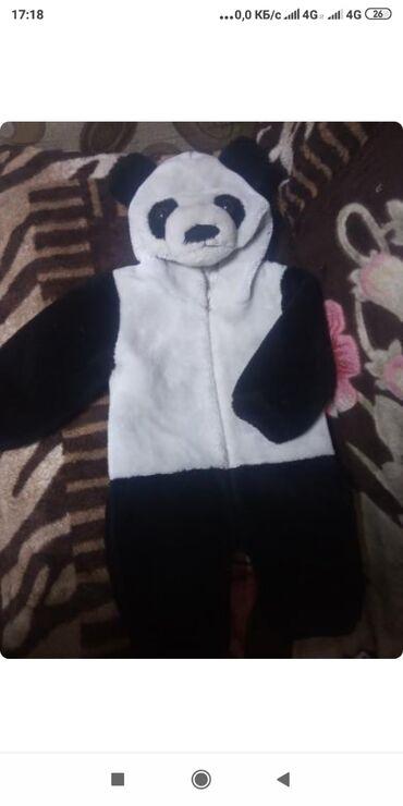 Слип mothercare - Кыргызстан: Комбинезон панда Теплый слип Верблюжья кофта шапочка очень теплая