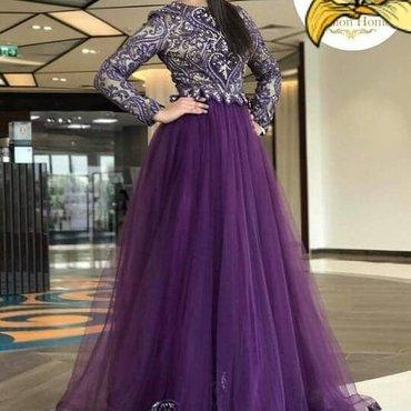 Шикарное платье на прокат на кыз в Кок-Ой