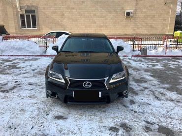 LEXUS GS250 2012 г. черный, салон терракотовый в Бишкек