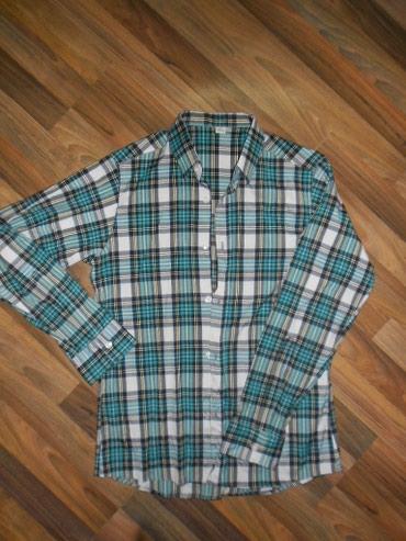 Мужская рубашка, местного пошива, размер 48-50 в Бишкек