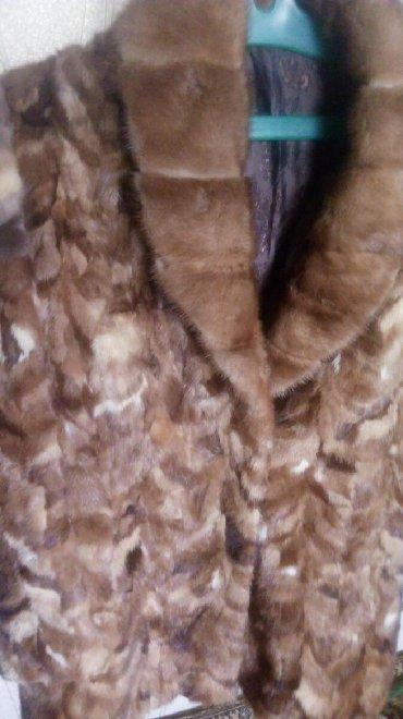 шубы норковые в Кыргызстан: Норковая шуба кусковая 48-размера. В отличном состоянии
