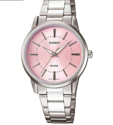 Серебристые Женские Наручные часы Casio
